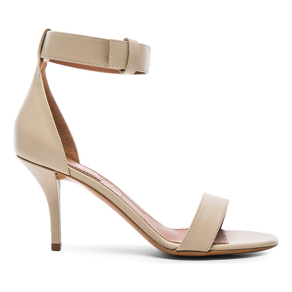 GIVENCHY Leather Retra Heels - Calfskin leather upper and sole.  Made in Italy.  Approx...