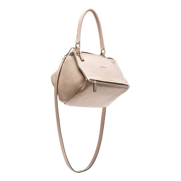 GIVENCHY Small Sugar Pandora - Goatskin leather with canvas lining and silver-tone