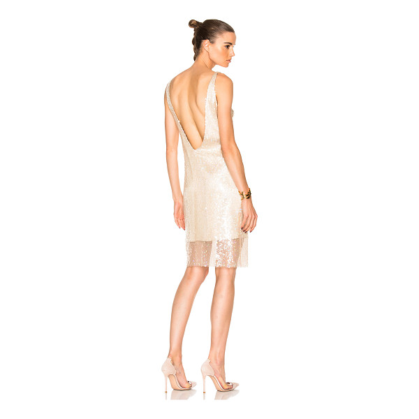 HANEY Laura Dress - Self: 100% silk - Contrast Fabric: 100% poly.  Made in...