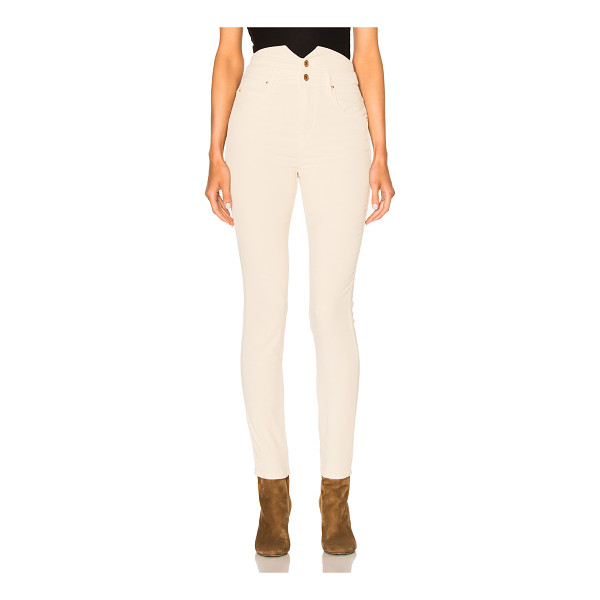 ETOILE ISABEL MARANT Farley High Waisted Jeans - Self: 98% cotton 2% elastan - Lining: 100% cotton.  Made in...