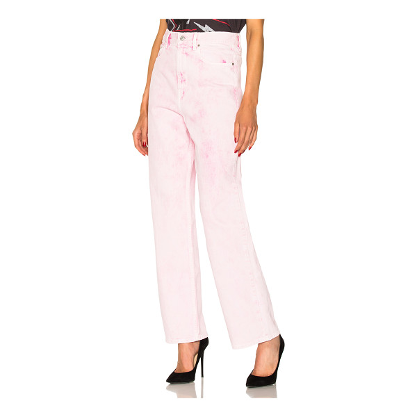 ETOILE ISABEL MARANT Forby Colored Boyfriend Jeans - Self & Lining: 100% cotton. Made in Morocco. Machine wash....