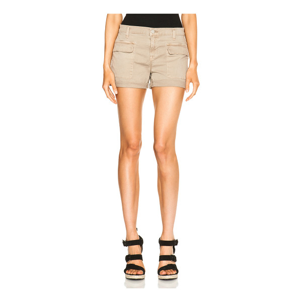 J BRAND Kai shorts - 97% cotton 3% elastan.  Made in USA.  Front flap pockets...