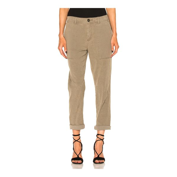 JAMES PERSE Relaxed Workwear Pant - 64% cotton 35% linen 1% elastan. Made in China. Machine...