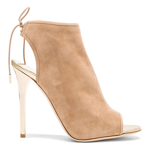 JIMMY CHOO Flume suede ankle booties - Suede upper with leather sole.  Made in Italy.  Approx...