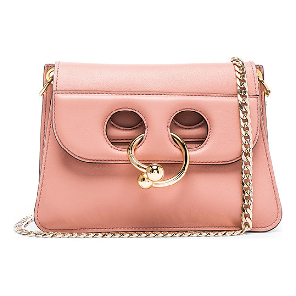 J.W. ANDERSON Mini Pierce Bag - Genuine leather with suede lining and gold-tone hardware.