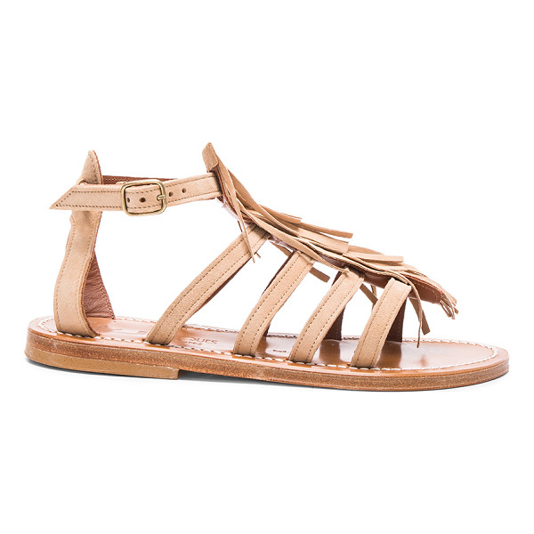 K. JACQUES Suede Fregate Sandals - K Jacques footwear started with humble beginnings in 1933...