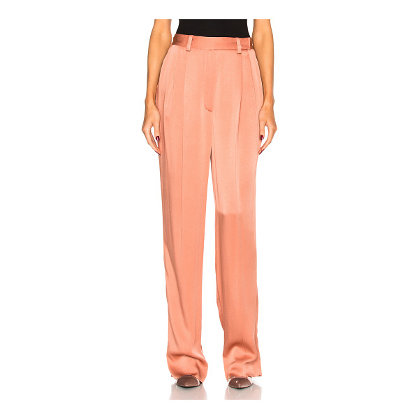 LANVIN Wide Leg Trousers - Self: 58% viscose 42% acetateLining: 100% silk. Made in...