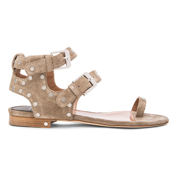 LAURENCE DACADE Hippo suede sandals - Suede upper with leather sole.  Made in Italy.  Approx...