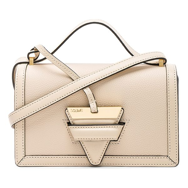 "LOEWE Small Barcelona Bag - ""Grained calfskin leather with smooth leather lining and..."