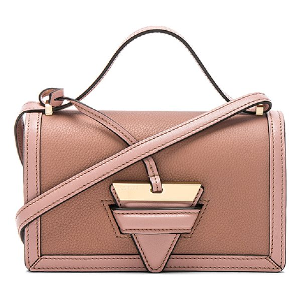 """LOEWE Small Barcelona Bag - """"Grained calfskin leather with smooth leather lining and..."""