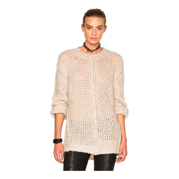 MAISON MARGIELA Multi Stitch Sweater - 55% alpaca 23% wool 22% polyamide. Made in Italy. Dry clean...