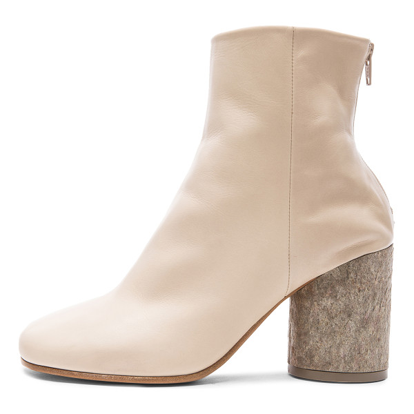 MAISON MARGIELA Baby calf boots - Genuine calfskin leather upper and sole.  Made in Italy. ...
