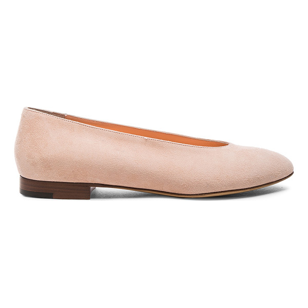 MANSUR GAVRIEL Ballerina - Suede upper with leather sole.  Made in Italy.  Approx...