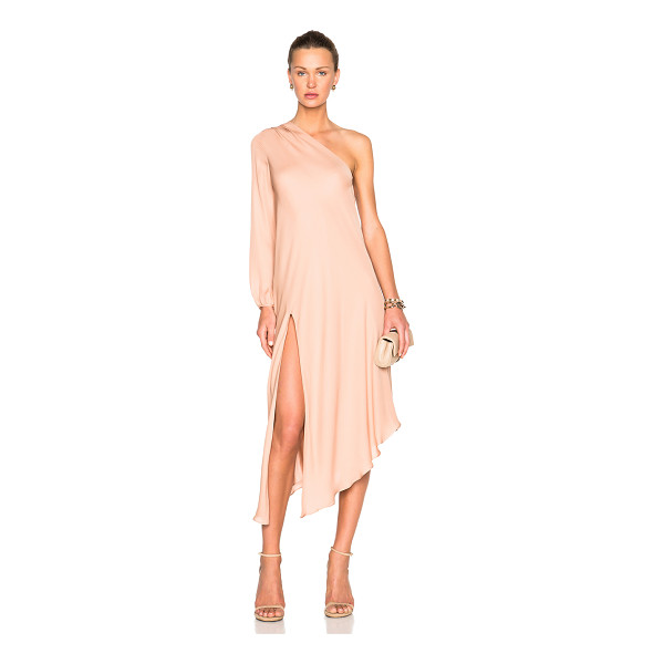 MASON BY MICHELLE MASON Mason by  fwrd exclusive one sleeve caftan - 100% silk.  Made in China.  Fully lined.  Side slit detail....