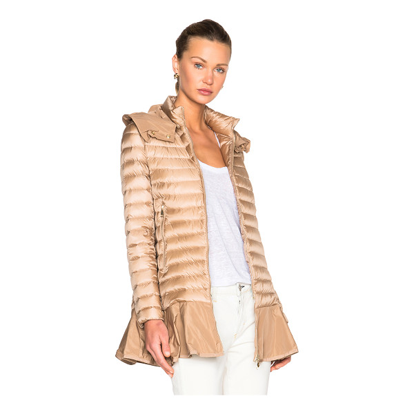 MONCLER Daurade Jacket - Self: 100% poly - Filling: 90% down 10% feather.  Made in...