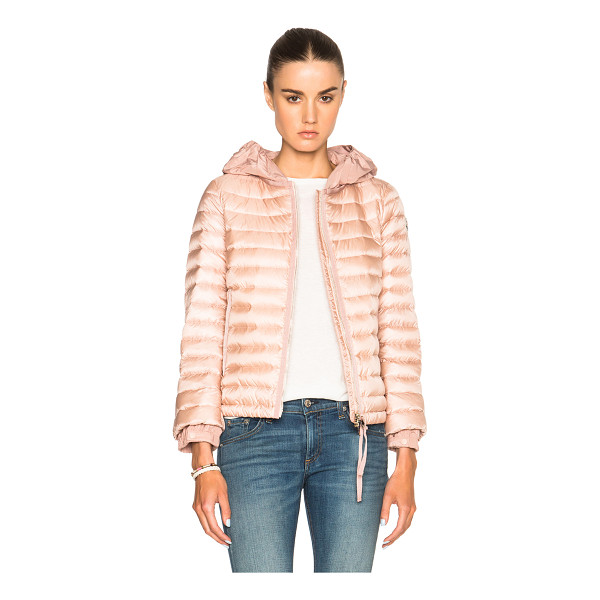 MONCLER Emissole jacket - Self: 100% poly - Filling: 90% down 10% feather.  Made in...