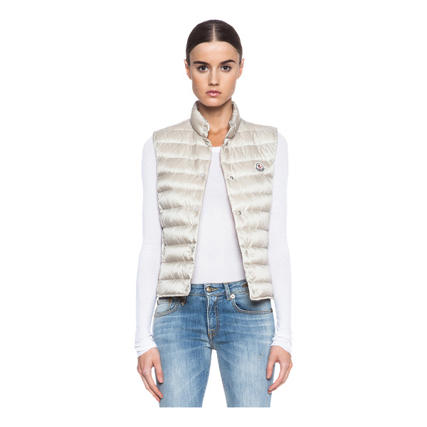 MONCLER Liane polyamide vest - Self: 100% polyamide - Filling: 90% down 10% feather.  Made...