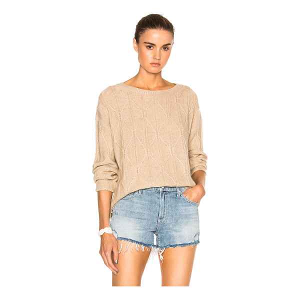 NILI LOTAN Nili Lotan Ali Sweater - 100% cashmere.  Made in China.  Dry clean only.  Cable knit...