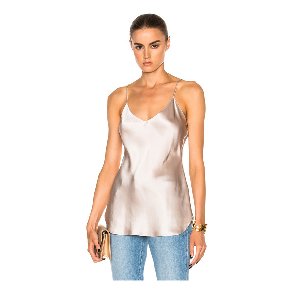 NILI LOTAN Isabella Cami Top - 100% silk. Made in USA. Dry clean only. Adjustable shoulder...