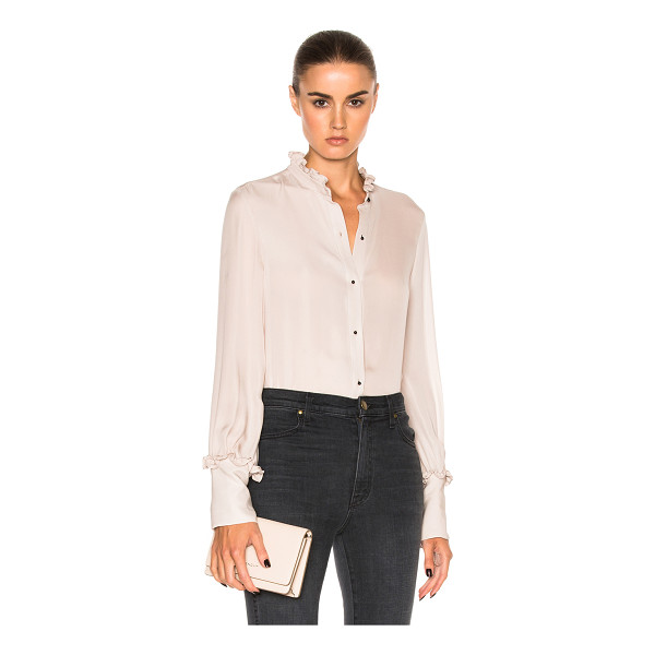 NILI LOTAN Regis Top - 100% silk. Made in USA. Dry clean only. Button front...