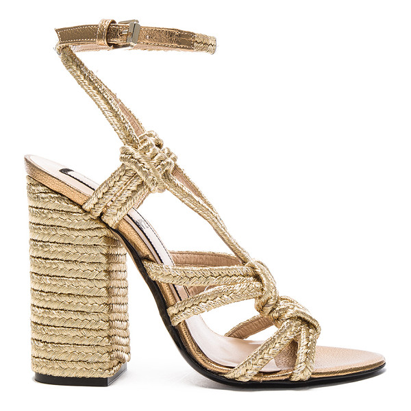 NO. 21 Espadrille Heel - With a keen eye for trends of the moment, No. 21 offers a