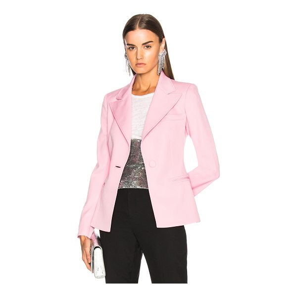 OSCAR DE LA RENTA Blazer - Self: 98% virgin wool 2% elastan - Lining: 100% silk.  Made...