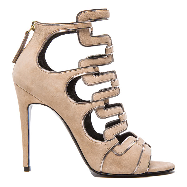 PIERRE HARDY Kaliste heel - Suede upper with leather sole.  Made in Italy.  Approx...