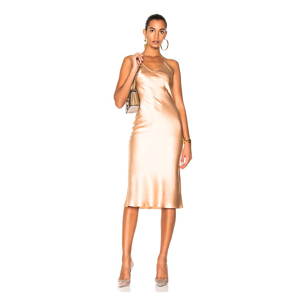 PROTAGONIST Classic Slip Dress - 100% silk. Made in USA. Dry clean only. Unlined. PROT-WD9....