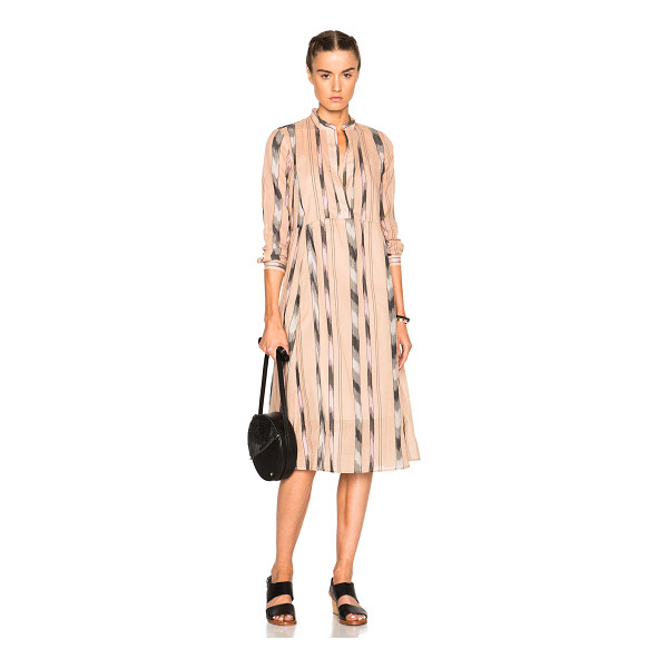 RACHEL COMEY New Hue Dress - 100% cotton.  Made in USA.  Fully lined.  Hidden side zip...