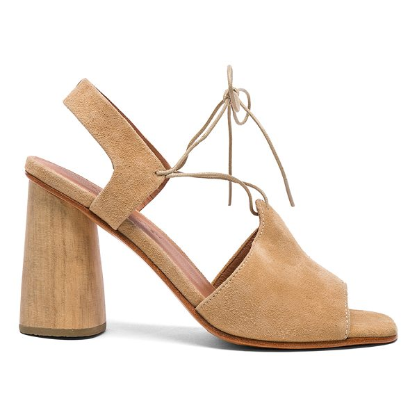 RACHEL COMEY Suede Melrose Heels - Suede upper with leather sole.  Made in Peru.  Approx 90mm/...