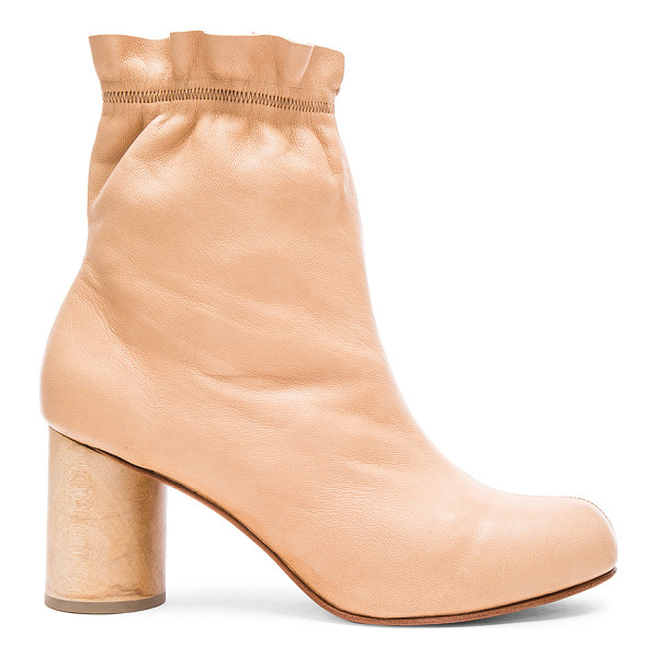 RACHEL COMEY Willa Booties - Stretch leather upper with leather sole.  Made in China. ...