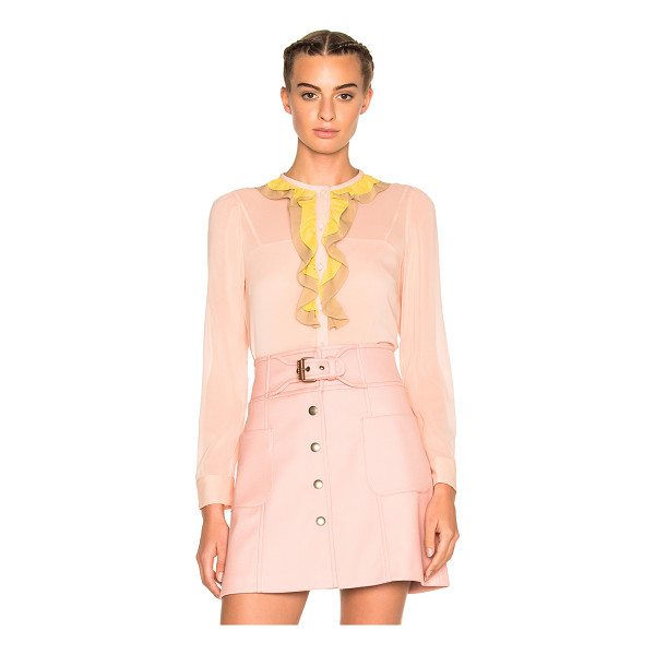 RED VALENTINO Ruffle Top - REDValentino delves into the here and now with a romantic,...