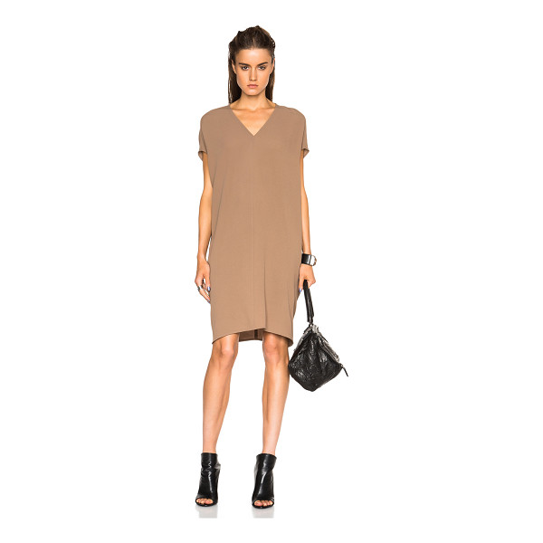 RICK OWENS Floating tunic - 60% silk 40% acetate.  Made in Italy.  Unlined.