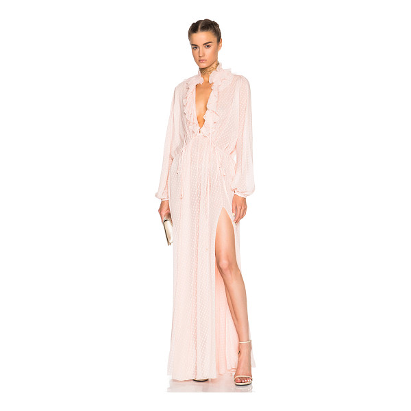 ROBERTO CAVALLI Fil Coupe Dress - 100% silk.  Made in Italy.  Dry clean only.  Unlined. ...