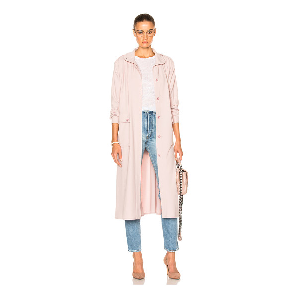 RODEBJER Odessa Coat - 63% poly 32% viscose 5% elastan.  Made in Lithuania.  Dry...