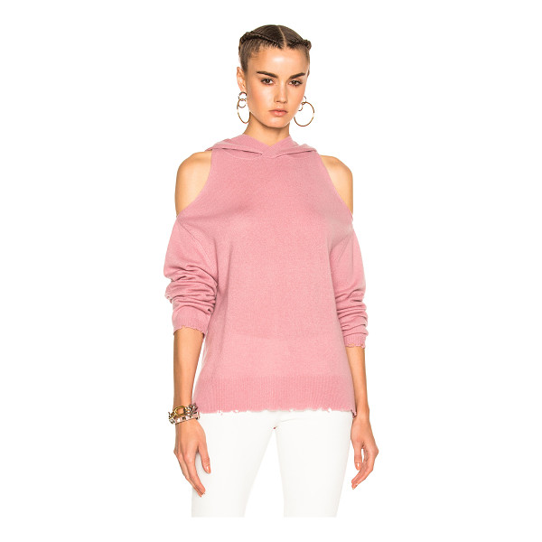 RTA Juno Sweater - 100% cashmere. Made in China. Dry clean only. Knit fabric....
