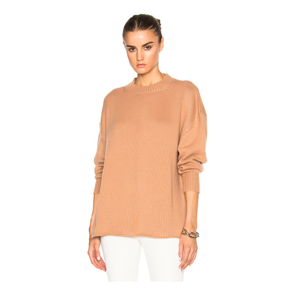 RYAN ROCHE Oversized Cashmere Sweater - 100% cashmere.  Made in Nepal.  Dry clean only.  Knit...