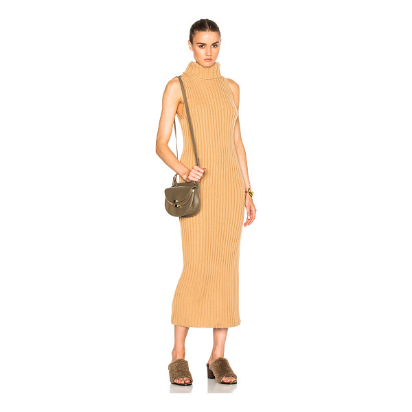 RYAN ROCHE Sleeveless Dress - 100% cashmere.  Made in Nepal.  Dry clean only.  Unlined. ...