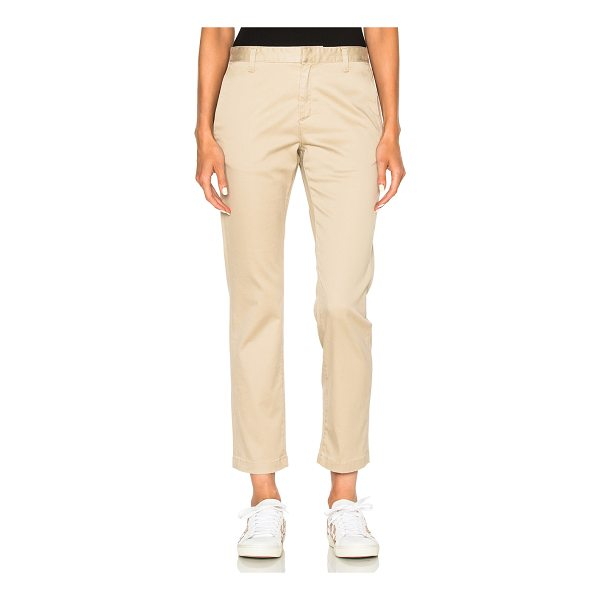 SAINT LAURENT Classic Chinos - 97% cotton 3% elastan. Made in Italy. Dry clean only. Hook...