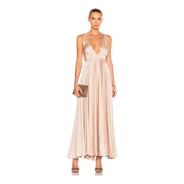 SANDRA MANSOUR Couronne Solaire Dress - 95% silk 5% elastic. Made in Lebanon. Dry clean only....