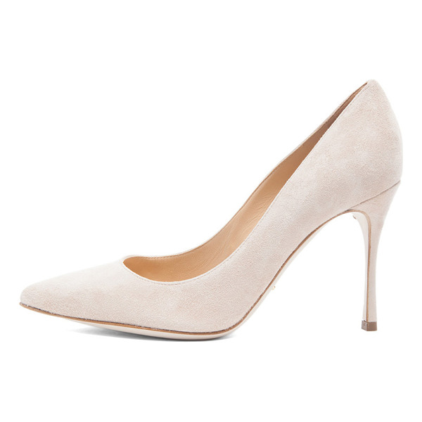 SERGIO ROSSI Godiva suede pumps - Suede upper with leather sole.  Made in Italy.  Approx...