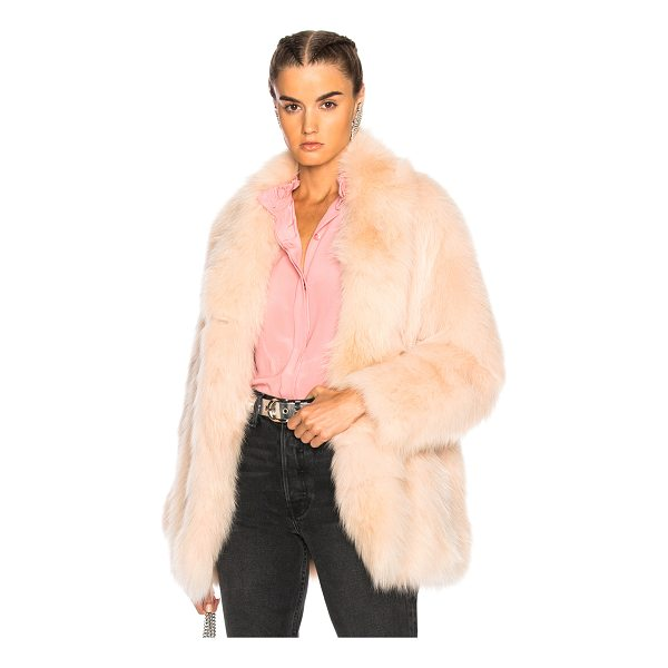 SPRUNG Nevis Coat - Fur: 100% real dyed fox fur - Lining: 100% silk.  Made in...