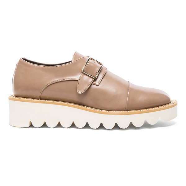 STELLA MCCARTNEY Odette Faux Leather Monk Straps - Faux leather upper with bio-degradable sole.  Made in...