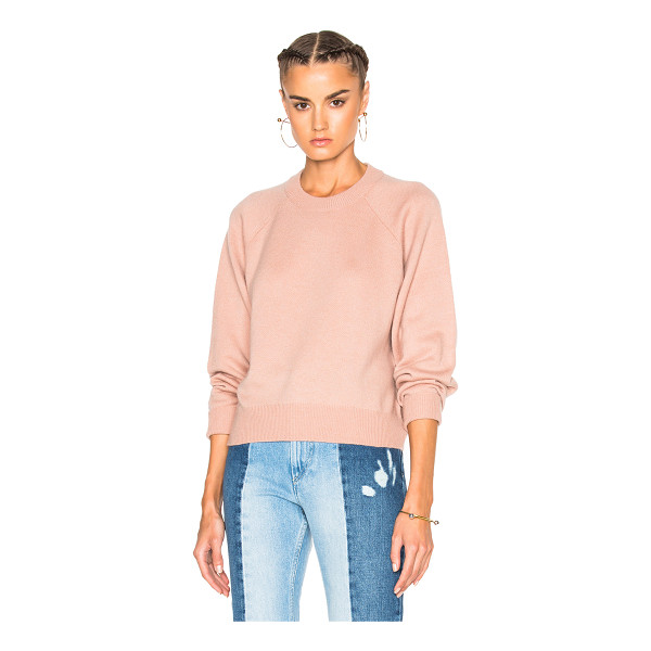 T BY ALEXANDER WANG Cashmere Crew Sweater - 90% wool 10% cashmere.  Made in China.  Dry clean only. ...