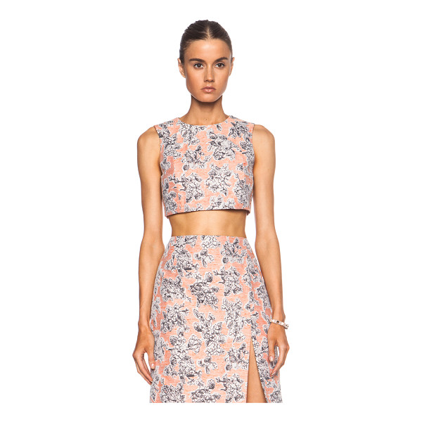 THAKOON Cropped shell top - Self: 57% viscose 43% poly - Lining: 100% silk.  Made in...
