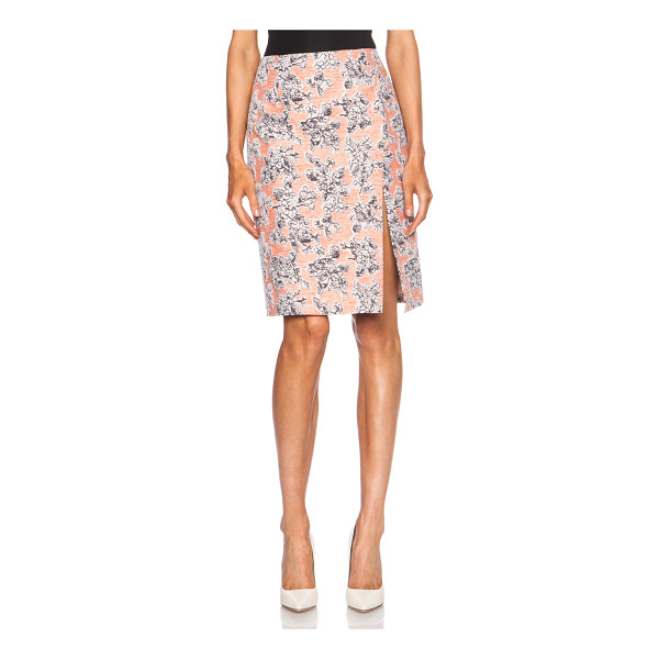 THAKOON Wrap high waisted viscose-blend skirt - Self: 57% viscose 43% poly - Lining: 100% silk.  Made in...