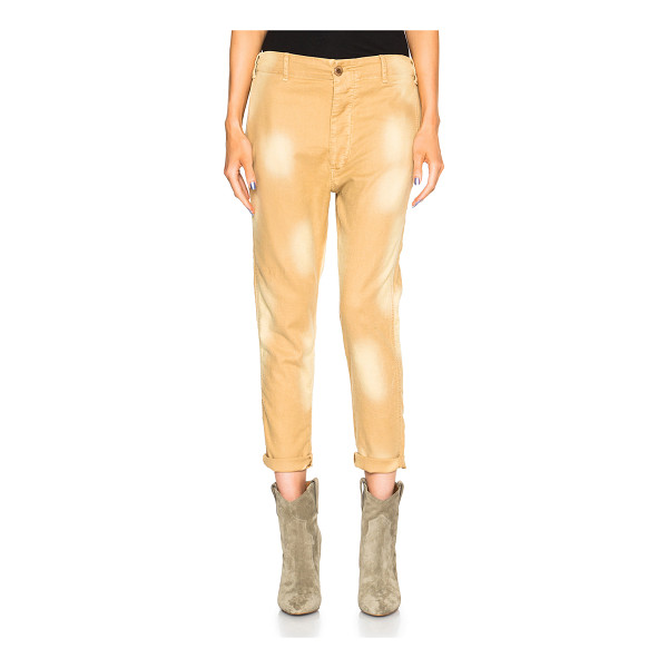 THE GREAT Slouch slack pants - 41% cotton 29% tencel 28% linen 2% polyurethane.  Made in...