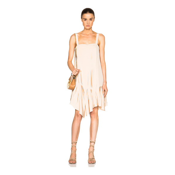TIBI Pleated Strappy Dress - Tibi is a New York based advanced contemporary brand...