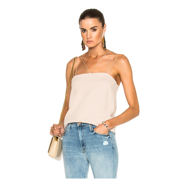 TIBI Savanna Crepe Strappy Cami - Self: 55% triacetate 45% poly - Contrast & Lining: 100%...