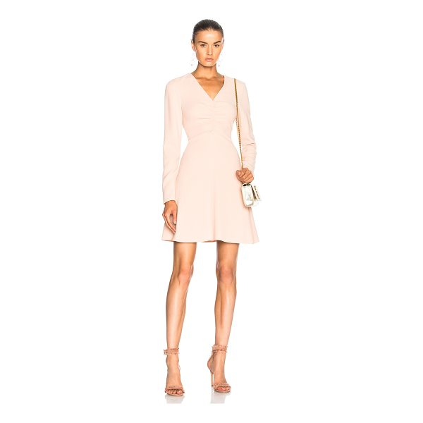 TIBI V Neck Dress - Self: 70% triacetate 30% poly - Lining: 100% silk.  Made in...